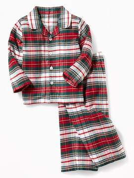 Old Navy 2-Piece Flannel Sleep Set for Toddler & Baby