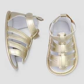 Carter's Just One You made by carter Baby Girls' Gladiator Sandal - Just One You® made by Gold 3-6M