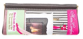 Charlotte Olympia Embroidered Frame Clutch