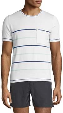 Parke & Ronen Men's Sky Port Crewneck T-Shirt