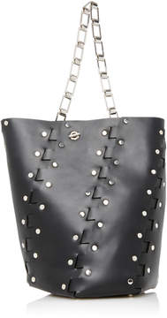 Proenza Schouler Hex Medium Studded Leather Shoulder Bag