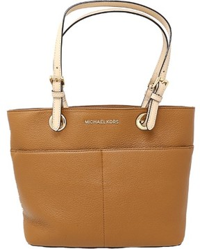 Michael Kors Women's Bedford Leather Top-Handle Bag Tote - Acorn - ACORN - STYLE