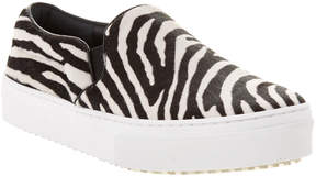 Celine Zebra Haircalf Slip-On Sneaker