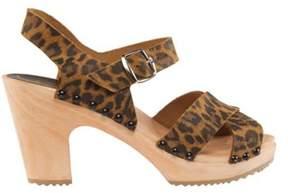 Cape Clogs Women's Cheetah Sandal.