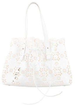 Simone Rocha Laser Cut Leather Tote w/ Tags