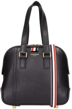 Thom Browne Mini Mrs Black Leather Bag
