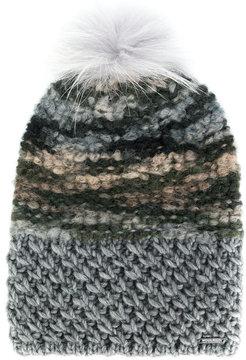 Woolrich pom-pom knitted hat