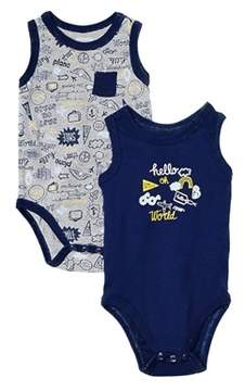 Absorba Boys' 2pc Bodysuit Set.