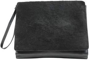 Barbara Bui Pony-style calfskin clutch bag