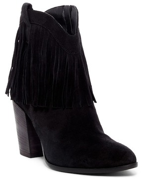 Andre Assous Farley Fringed Cowboy Bootie