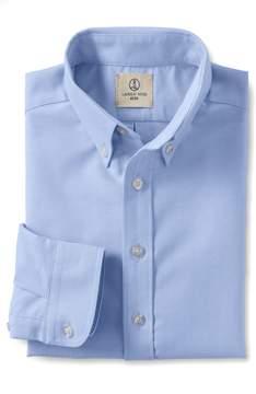 Lands' End Lands'end School Uniform Boys Long Sleeve Oxford