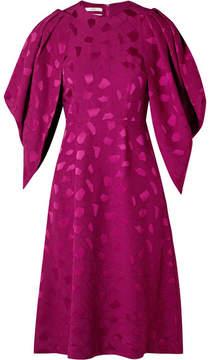 Co Brocade Dress - Magenta