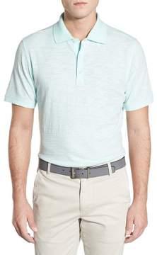 AG Jeans Green Label Bryant Trim Fit Slub Cotton Polo