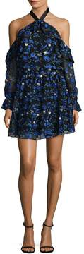 Alexia Admor Women's Floral Embroidery Dress