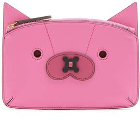 Anya Hindmarch Fox leather coin purse