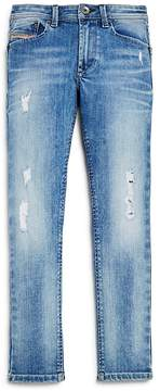 Diesel Boys' Straight Leg Jeans - Big Kid