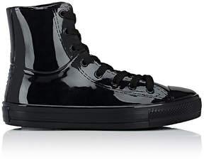 Barneys New York Women's Cap-Toe High-Top Rain Sneakers