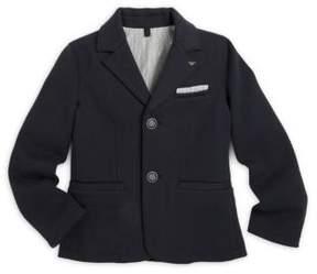 Armani Junior Little Boy's & Boy's Solid Jersey Blazer