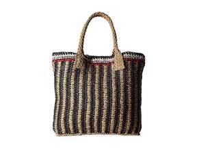 Hat Attack Stripe Handheld Handbags