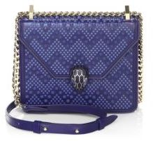 BVLGARI BVLGARI x Nicholas Kirkwood Serpenti Forever Studded Leather Chain Crossbody Bag