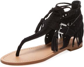 Sigerson Morrison Women's Alysa Fringe Sandal