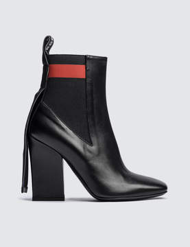 MSGM Striped Band Chelsea Boot