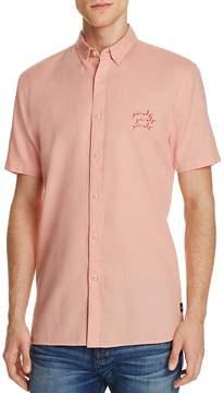 Barney Cools Girls Regular Fit Button-Down Shirt