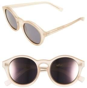 Le Specs Women's 'Edition Four' 51Mm Sunglasses - Matte Sand/ Gunmetal