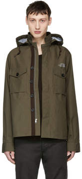Junya Watanabe Khaki The North Face Edition Weather Windstopper