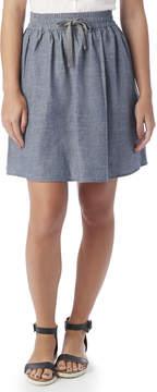 Alternative Apparel Skater Chambray Skirt