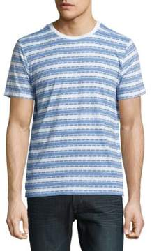 Sovereign Code Striped Cotton-Blend Tee