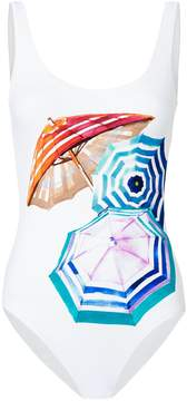 Onia Kelly Mediterranean Vacation One Piece Swimsuit