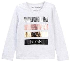 True Religion I Did It All Tee (Toddler & Little Girls)