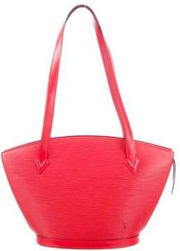 Louis Vuitton Epi Saint Jacques PM - RED - STYLE