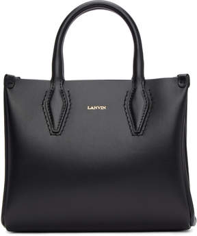 Lanvin Black Mini Shopper Tote