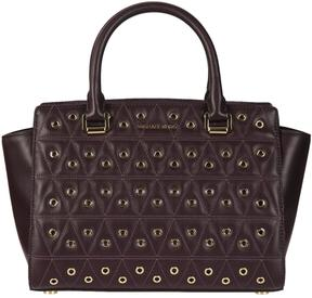 Michael Kors Quilted Tote - DAMSON - STYLE