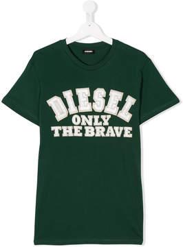 Diesel Teen logo T-shirt