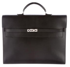 Hermes Tadelakt Kelly Depeche 38 Briefcase