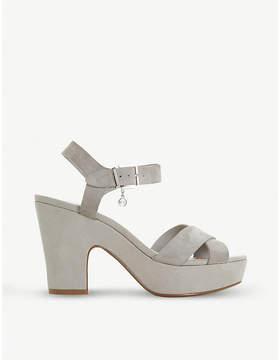 Dune Iyla leather platform sandals