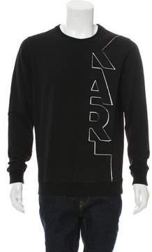 Karl Lagerfeld by Patchwork Sweatshirt