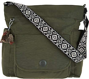 Kipling Nylon Hobo Handbag with Novelty Strap - Nyrie - ONE COLOR - STYLE