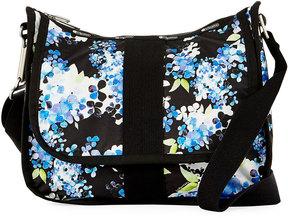 Lesportsac City Hobo Everyday Bag, Black Pattern