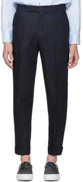 Paul Smith Navy Denim Trousers