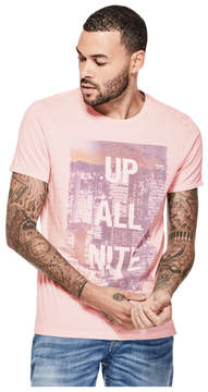 GUESS Up All Nite Graphic Tee