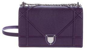 Christian Dior Calfskin Diorama Flap Bag