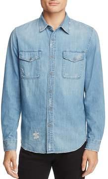 AG Jeans Benning Denim Button-Down Shirt