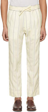 Haider Ackermann Off-White Stripe Kunzite Trousers
