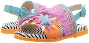 Sophia Webster Jute Flower Sandal Girls Shoes