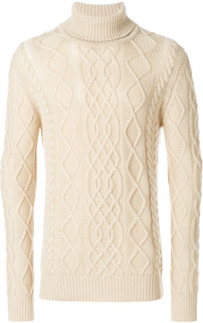 Ballantyne cable knit jumper