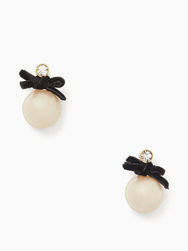 Kate Spade Girls in pearls drop studs